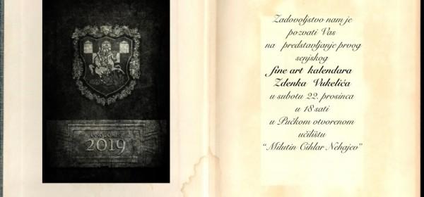 Ne propustite predstavljanje prvoga senjskog fine-art kalendara autora Zdenka Vukelića!