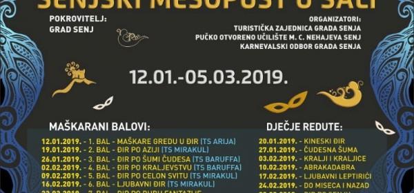 361. SENJSKI MESOPUST OD 12. SIJEČNJA 2019.