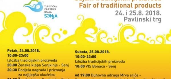 """Sajam tradicijskih proizvoda """"Potok sriće Senj """""""