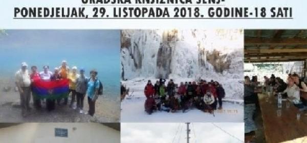 """Izložba """" Iz života i rada senjskih planinara"""", 29.listopada"""