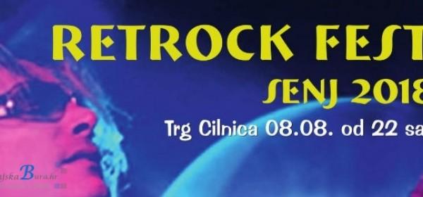 """""""Retrock Fest Senj 2018"""", srijeda 08.kolovoza"""