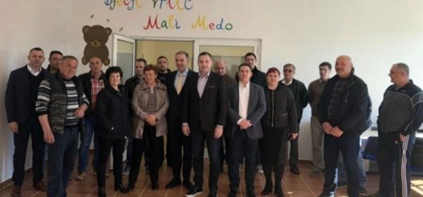 Marijan Kustić i ministar Oleg Butković u radnom posjetu Općini Lovinac