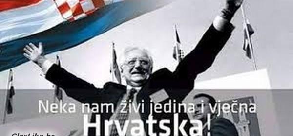 "Sretan i blagoslovljen Dan Hrvatske neovisnosti želi Vam zajednica utemeljitelja HDZ-a ""dr. Franjo Tuđman"""