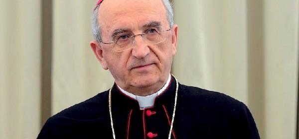 Nadbiskup i predsjednik HBK dr.Želimir Puljić na Blagovijest u Gospiću