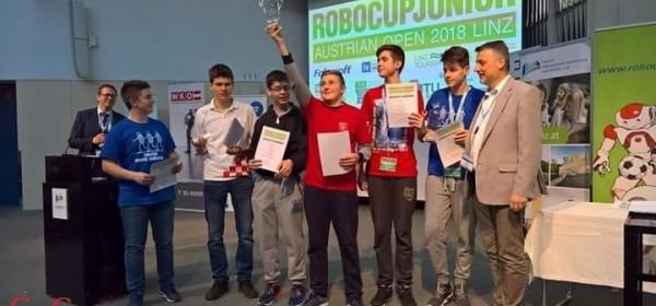 Robo Otočac prvi na Robo Cup Junior Austrian Open 2018.
