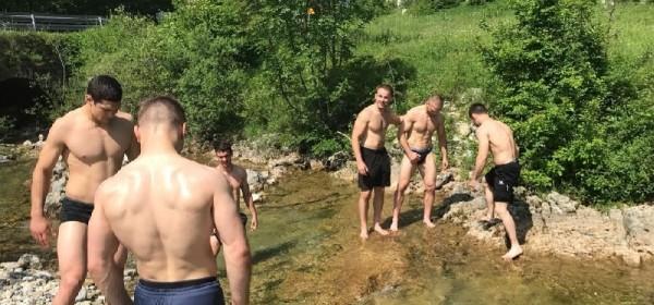 Hrvačka reprezentacija na završnim pripremama u Gospiću