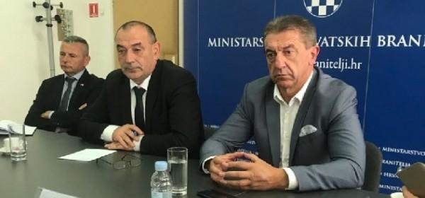 "Sastanak kod ministra Medveda povodom obilježavanja 25.obljetnice VRO ""Medački džep"""