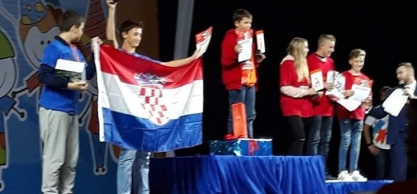 Robo Otočac osvojio drugo mjesto na natjecanju u St. Petersburgu.