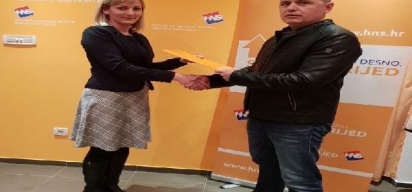 Raspušteno predsjedništvo podružnice  HNS-a Gospić
