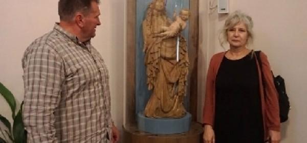"""Brinjska """"Madona s djetetom Isusom"""" stigla s restauracije"""