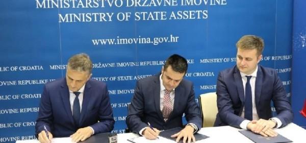 Potpisan Ugovor o dodjeli na korištenje Vile Izvor
