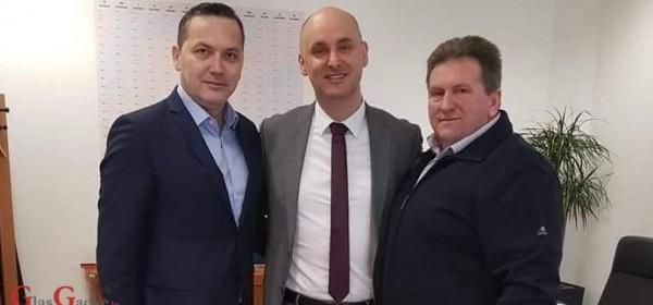 Načelnik Fumić na radnom sastanku s ministrom Tolušićem
