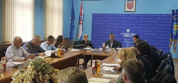 Održana sjednica Stožera civilne zaštite Ličko-senjske županije
