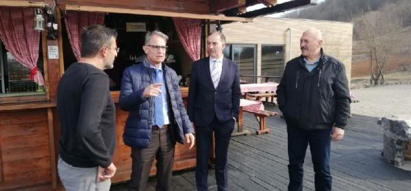 Ministar turizma Capelli posjetio Općinu Lovinac