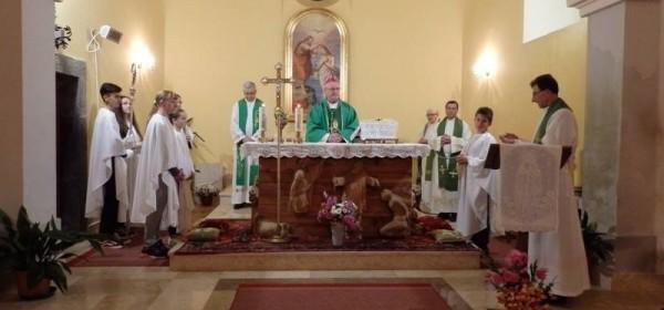 Biskup Zdenko Križić na duhovnoj obnovi u Švici