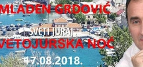 Svetojursku noć uz Mladena Grdovića