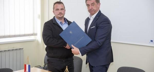Župan Milinović u posjeti Udbini