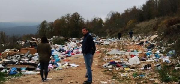 Započinju radovi na sanaciji odlagališta neopasnog otpada - Javorov vrh u Brinju