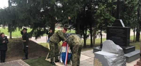 Obilježavanje 100. godišnjice završetka Prvog svjetskog rata - izaslanstva u Ukrajini