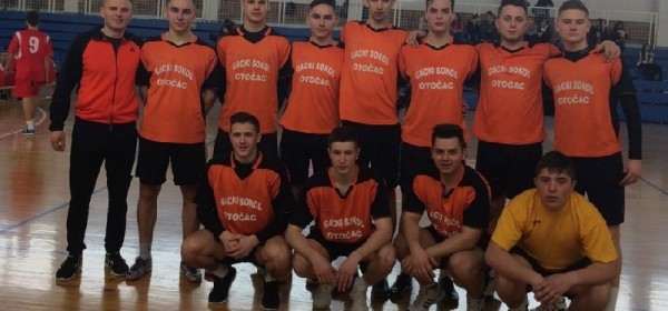 Učenice i učenici Srednje škole Otočac županijski prvaci u odbojci