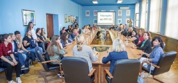 Ličko-senjsku županiju posjetili su danas učenici i profesori Gimnazije Gospić i gosti iz Njemačke, Grčke, Italije