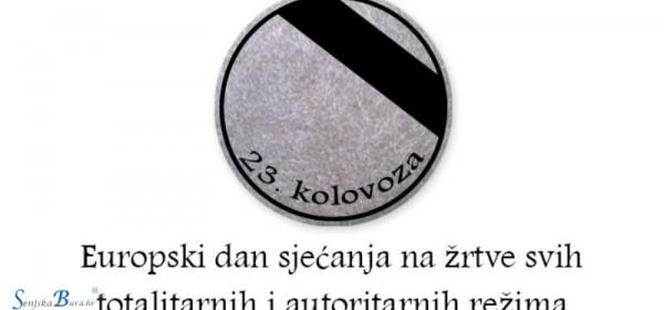 Udruga branitelja Uskok Senj aktivna u obilježavanju Europskog dana sjećanja na žrtve totalitarnih i autoritarnih sistema