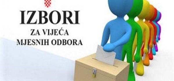 Privremeni rezultati izbora za članove vijeća MO u Gradu Otočcu
