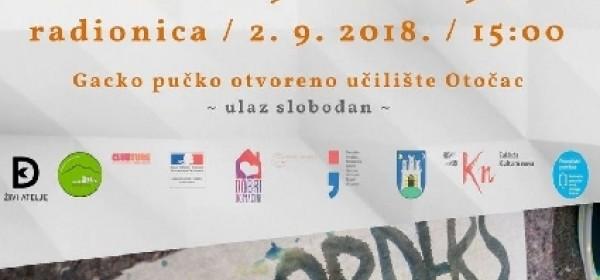 """Izložba i radionica """"Bez granica"""" / Otočac"""