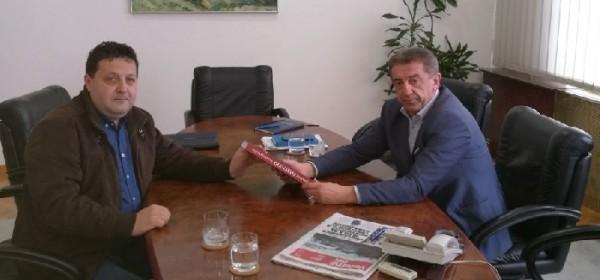 Predsjednik Udruge logoraša LSŽ-e na prijamu kod župana dr.Milinovića
