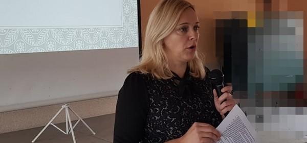Maja Pezelj Mandarić na konferenciji ŽeneITočka