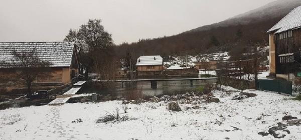 Majerovo vrilo - korak do zime