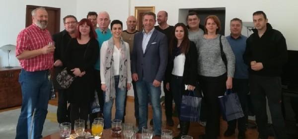 Župan Milinović upriličio prijam za medijske djelatnike