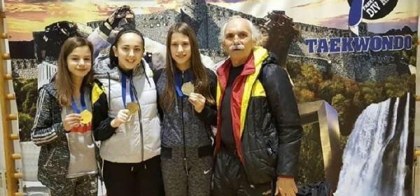 Tri natjecateljice i tri medalje