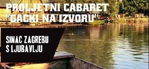 """Proljetni Cabaret """"Gacki na izvoru"""""""