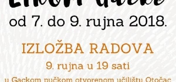 """12.Likovna kolonija """"""""Likom Gacke"""""""