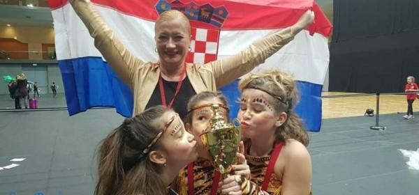 Plesna skupina Vile Senj zlatna na europskom baletnom natjecanju Grand Prix u Beču!