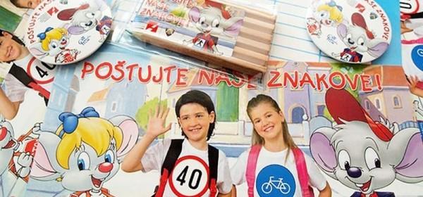 """U ponedjeljak započinje nova školska godina """"Poštujte naše znakove"""""""