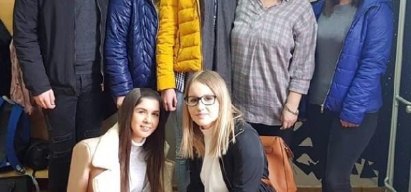Prvo mjesto iz hrvatskoga jezika na županijskomu natjecanju