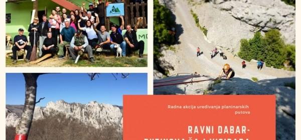 Gromovčani na uređenju planinarskih staza po Velebitu
