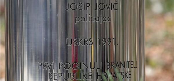 Krvavi Uskrs - komemoracija prve žrtve Domovinskog rata Josipa Jovića na Plitvicama