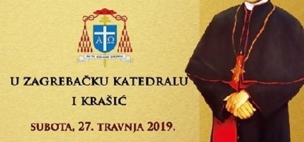 27. travnja - biskupijsko hodočašće blaženom Stepincu