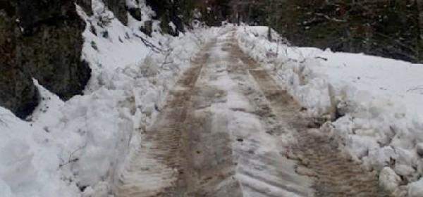 Prohodnost cesta u NP Sjeverni Velebit još uvijek upitna