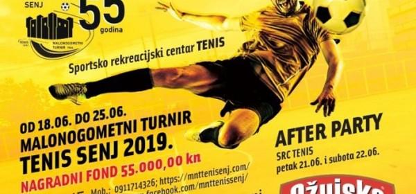 Manje izmjene za Malonogometni turnir Tenis Senj 2019.