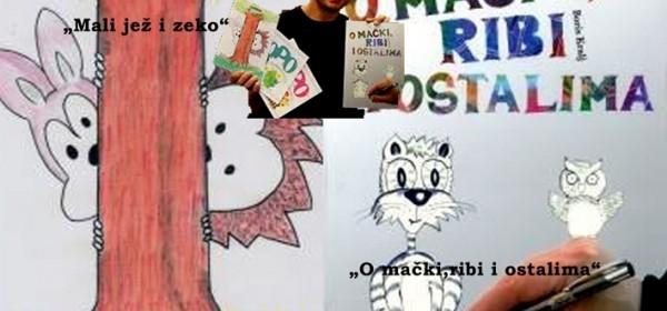 Mali jež i zeko i O mački, ribi i ostalima - predstavljanje slikovnica u Gospiću
