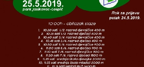 Kros Jasikovac - u subotu