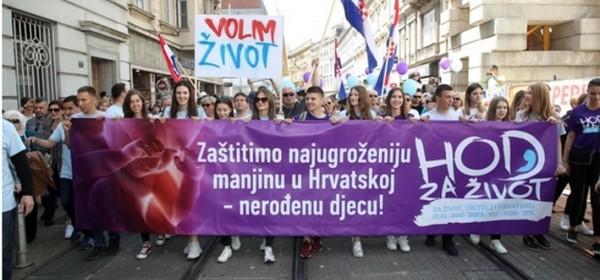 Zagrebu se održava  - Hod za život