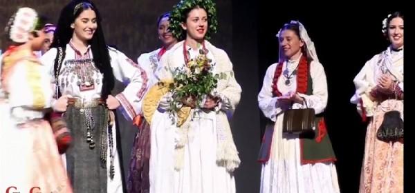Valentina Šporčić - prva pratilja najljepše Hrvatice u narodnoj nošnji na Brodskom kolu