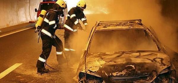 Požar automobila u tunelu Sv. Rok