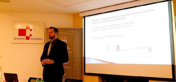 Jučer u komori o načelima pregovaranja u funkciji podizanja kvalitete poduzeća