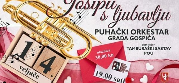 Puhački orkestar za Josipa Kolačevića